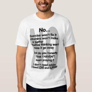 Ninguna… enfermedad invisible camisas