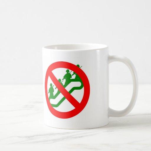 Ninguna ESCALADA de la tropa Tazas De Café