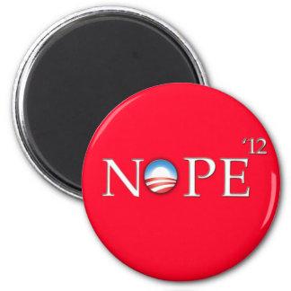 Ninguna esperanza del botón de Obama 2012 Imán Redondo 5 Cm