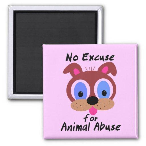 Ninguna excusa para los imanes animales del abuso