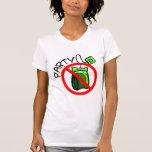 Ninguna fiesta del té anti de la fiesta del té camisetas