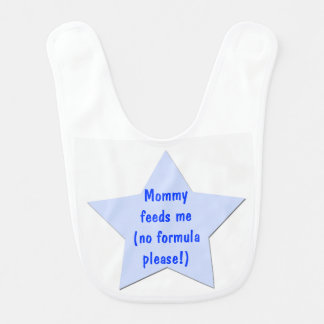 Ninguna fórmula que cuida por favor conciencia baberos para bebé