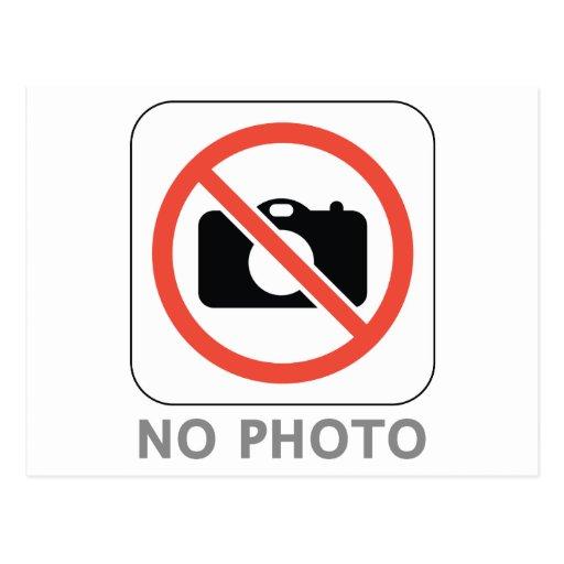 Ninguna foto tarjeta postal