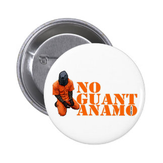 Ninguna Guantánamo Pin Redondo 5 Cm