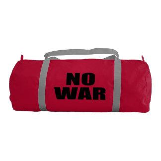 Ninguna guerra bolsa de deporte