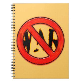 NINGUNA GUERRA NOTE BOOK