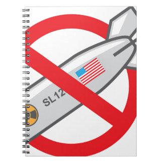 Ninguna guerra nuclear libros de apuntes