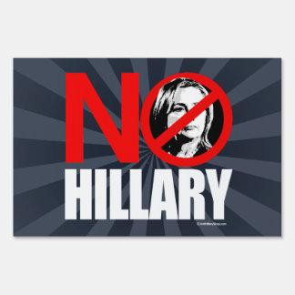 NINGUNA HILLARY - blanco anti del png de Hillary - Señales