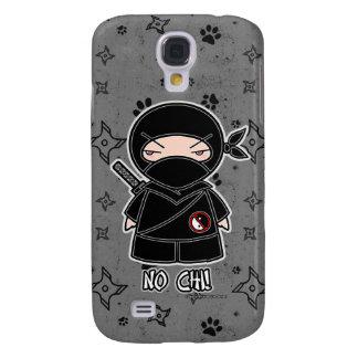 ¡Ninguna ji! Gris del caso del iPhone 3 de Ninja Funda Para Galaxy S4