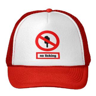 ninguna lamedura gorras