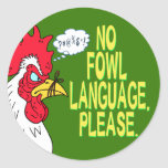 Ninguna lengua de las aves etiqueta