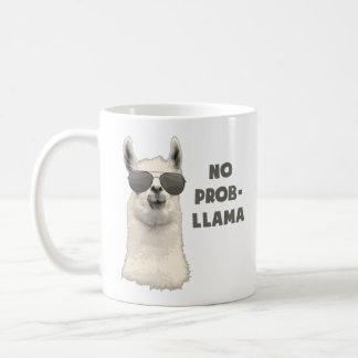 Ninguna llama del problema taza de café