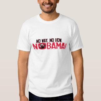 Ninguna manera. Ningún Obama en 2008 Camisas