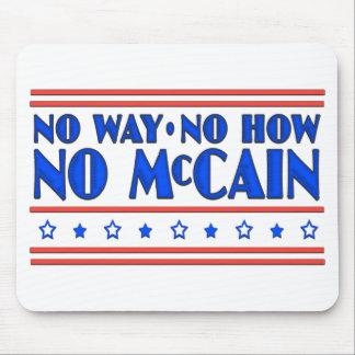 Ninguna manera ninguna cómo ningún McCain Alfombrilla De Raton