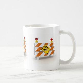 ¡Ninguna manera! - Taza de café