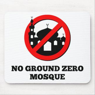 Ninguna mezquita del punto cero tapete de ratón