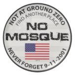 Ninguna mezquita en el punto cero platos de comidas