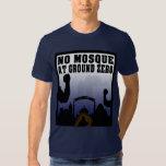 Ninguna mezquita en la camiseta del punto cero playeras