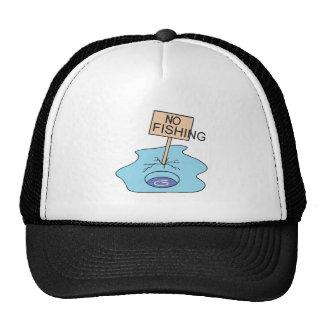 Ninguna muestra de la pesca gorra