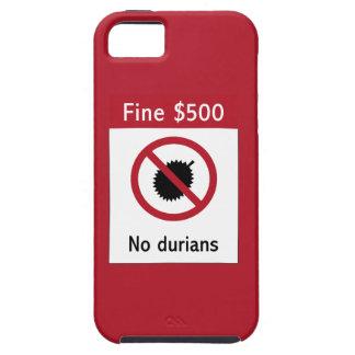 Ninguna muestra de los Durians (2), Singapur iPhone 5 Cobertura