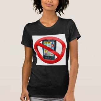 Ninguna muestra del teléfono camisetas