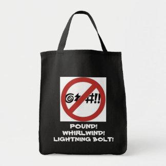 Ninguna muestra que maldice bolsa tela para la compra
