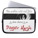 ¿Ninguna música del peligro? Fundas Computadoras