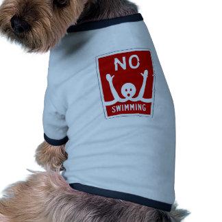 Ninguna natación, muestra, la Florida, los Camiseta De Perro