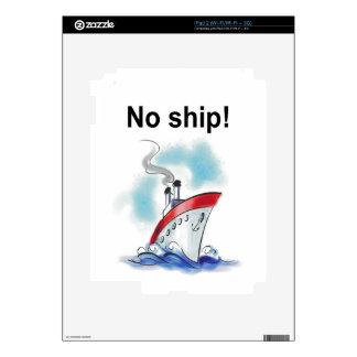 ¡Ninguna nave! Skins Para iPad 2
