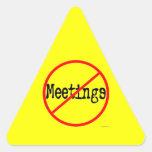 Ninguna oficina divertida de las reuniones que dic