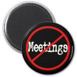Ninguna oficina divertida de las reuniones que dic iman