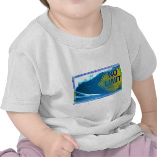 NINGUNA onda del LÍMITE Camiseta