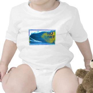 NINGUNA onda del LÍMITE Traje De Bebé