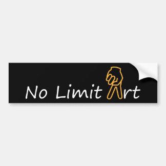 NINGUNA PAZ del ARTE y de la muestra del LÍMITE - Pegatina Para Auto