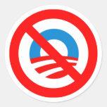 ninguna pegatina para el parachoques de obama