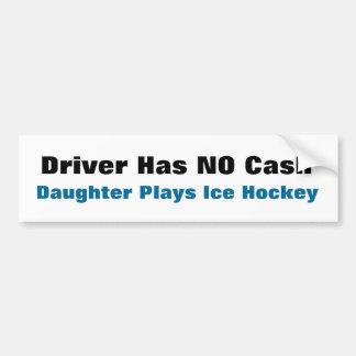 NINGUNA pegatina para el parachoques del EFECTIVO… Pegatina Para Auto