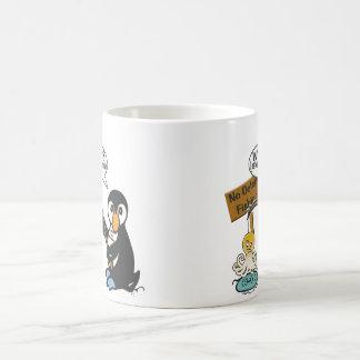 Ninguna pesca de los pulpos taza de café