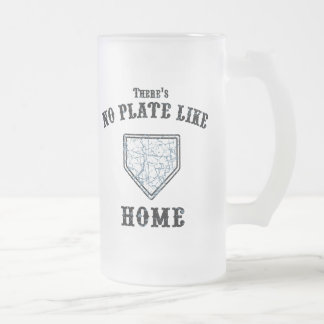Ninguna placa tiene gusto a casa jarra de cerveza esmerilada