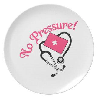 ¡Ninguna presión! Plato De Comida