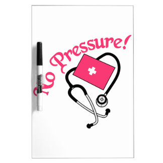 ¡Ninguna presión! Tableros Blancos