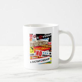 Ninguna propaganda socialista tazas de café