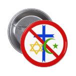 Ninguna religión pin