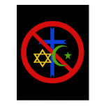 Ninguna religión postal