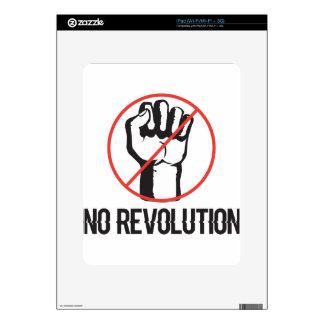 ninguna revolución iPad skin