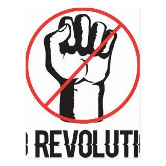 ninguna revolución tarjeta postal