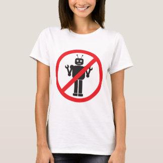 Ninguna ropa de los robots playera