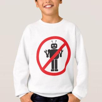 Ninguna ropa de los robots sudadera