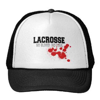 Ninguna sangre ningún gorra asqueroso de LaCrosse