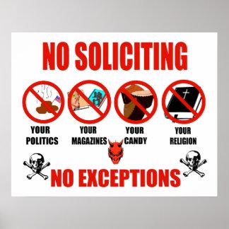 Ninguna solicitación posters
