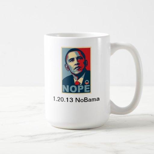 Ninguna taza de café de Obama